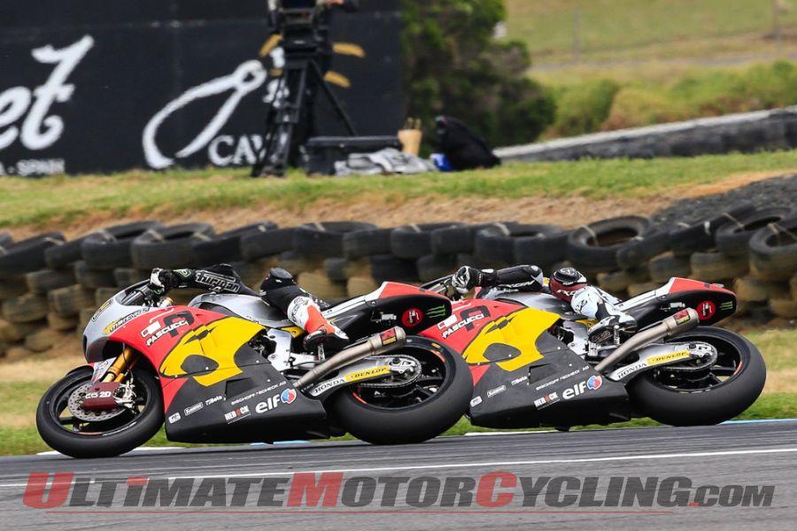 2014 Phillip Island Moto2 Results
