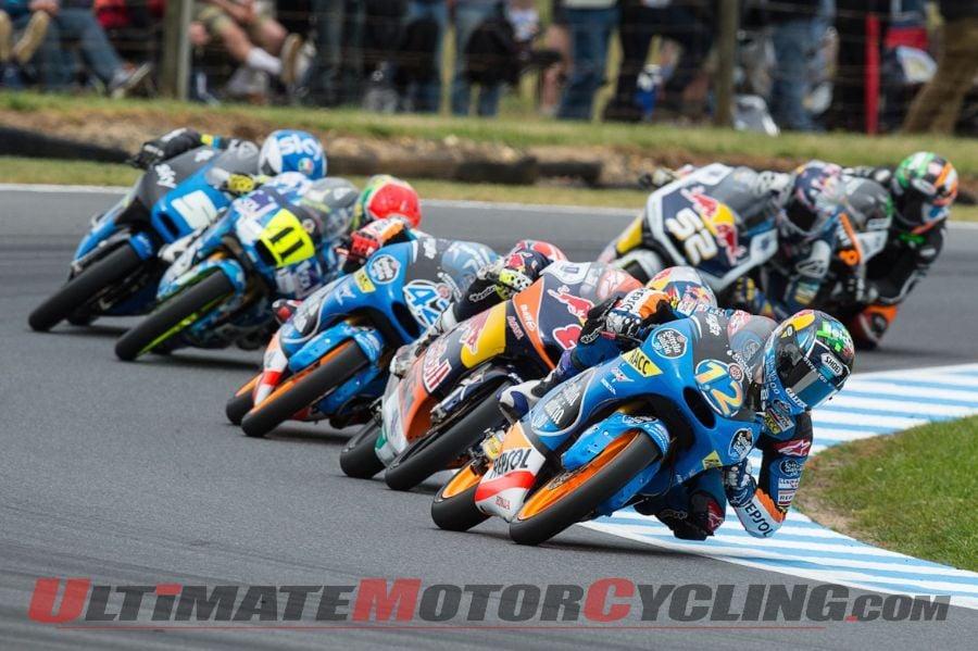 2014 Phillip Island Moto3 Results