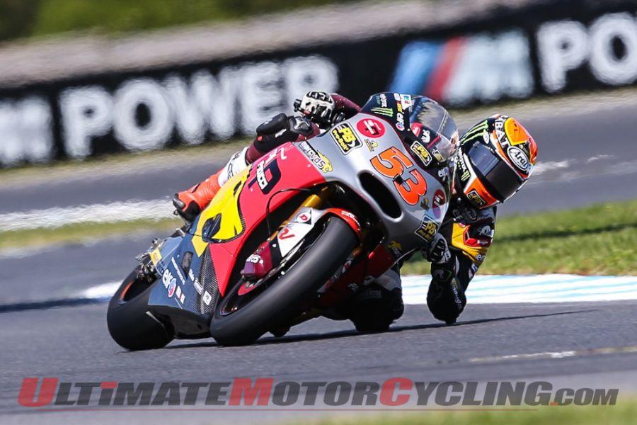 Rabat Dominates 2014 Phillip Island Moto2 Qualifying