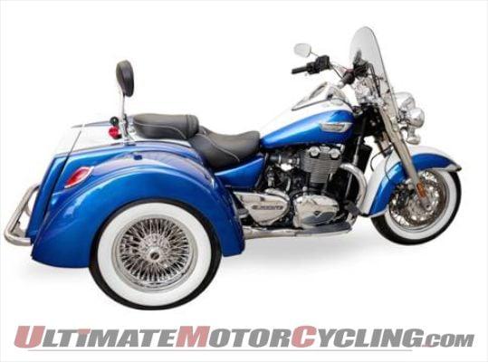 Motor Trike Launches Triumph Thunderbird LT Trike