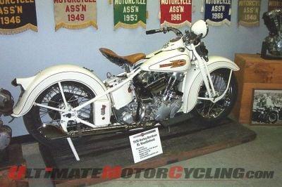 1936 Harley-Davidson EL Knucklehead at WTT