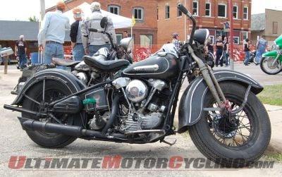 Harley Knucklehead still getting the mileage