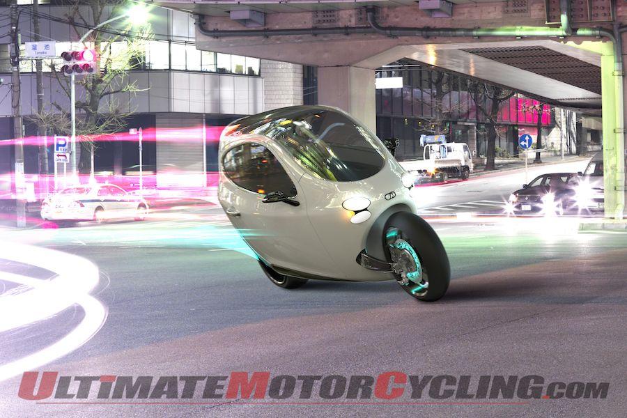 Lit Motors C-1 – Self-balancing Dream Motorcycle