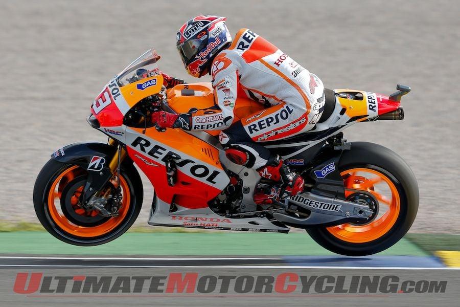 Valencia MotoGP Friday Report | Marquez on Provisional Pole