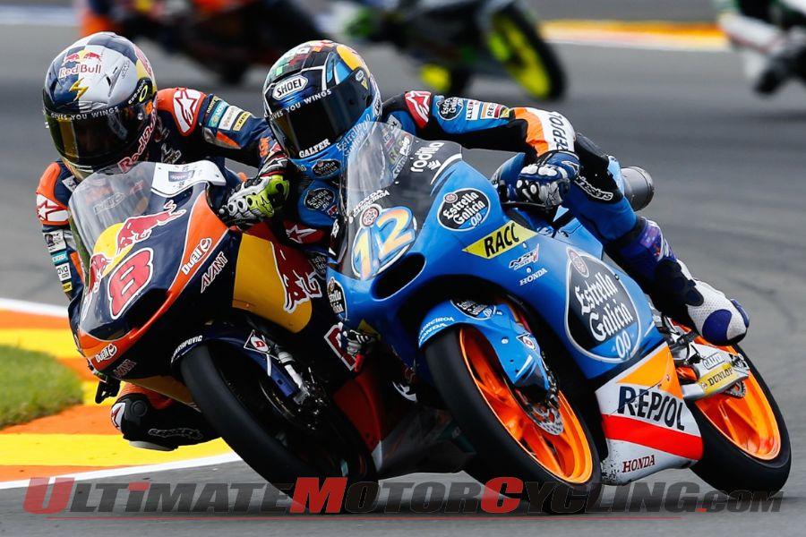 2014 Valencia Moto3 Results | Season Finale