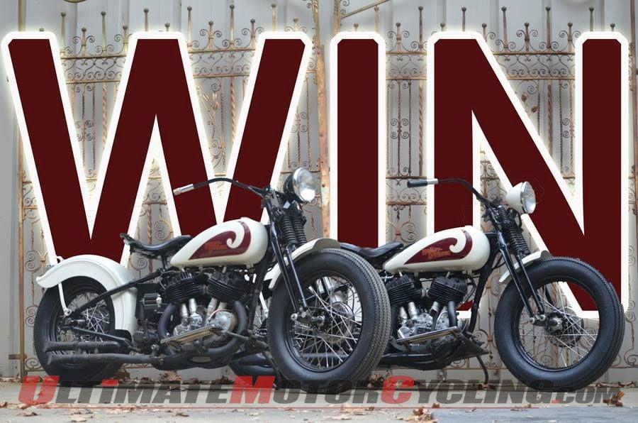Wheels Through Time Raffle   2 Harley Flathead VLs