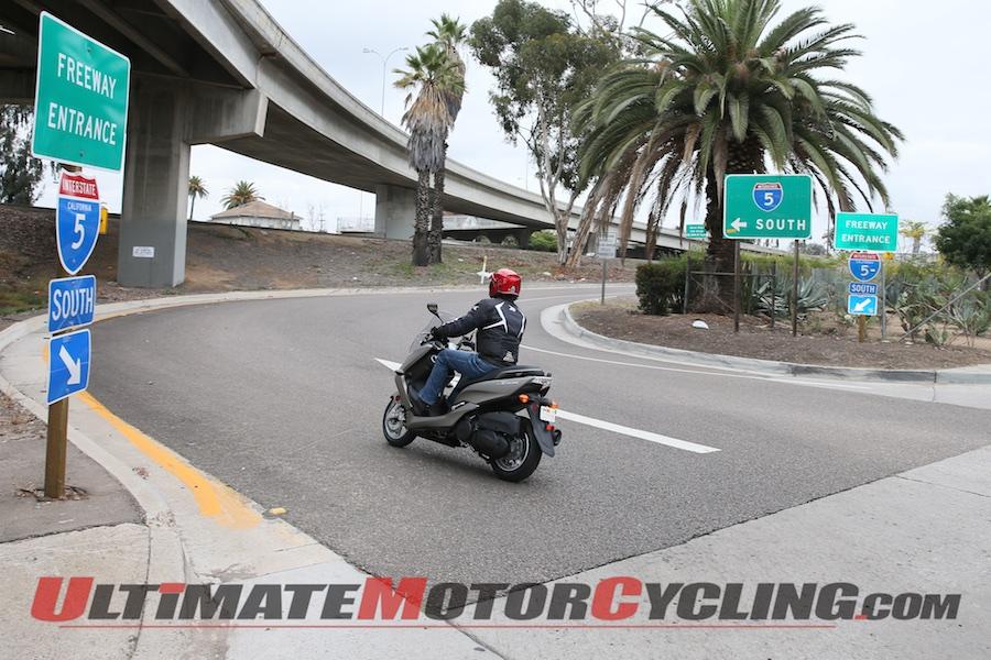 2015 Yamaha Smax First Ride