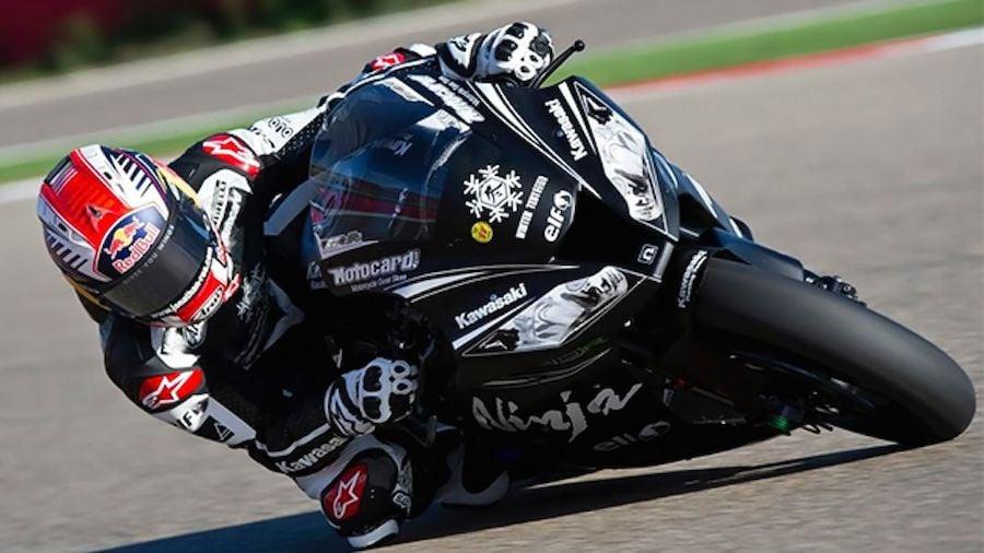 2015 World Superbike Private Testing Begins at Aragon