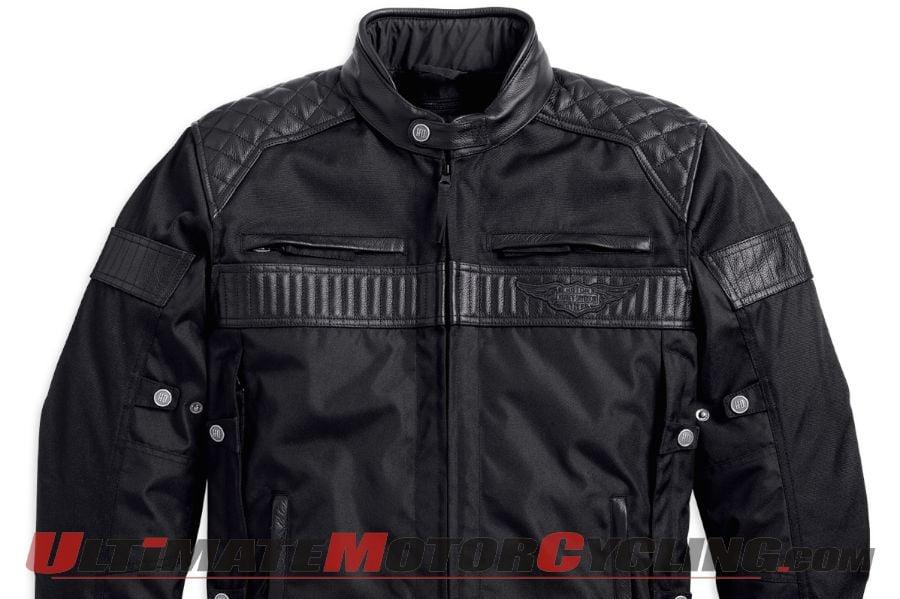 Harley-Davidson Triple Vent System WP Jacket Released