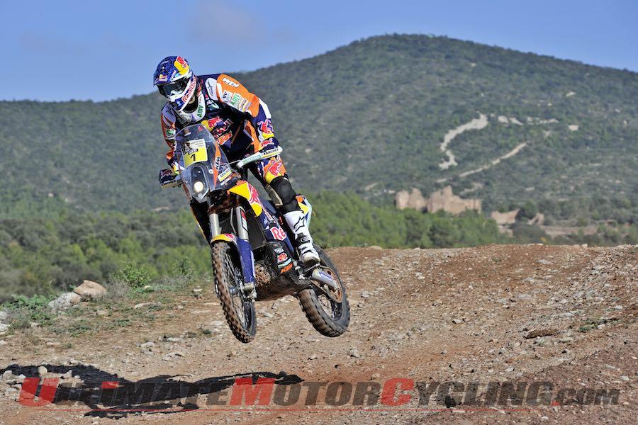KTM's Marc Coma ahead of 2015 Dakar Rally