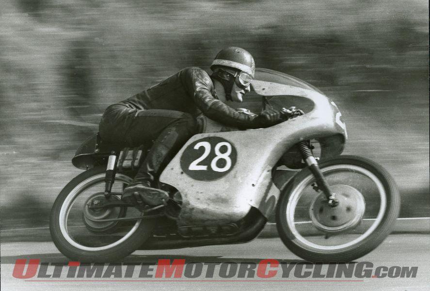 Ex-Mike Hailwood Mondial 250 Bialbero Grand Prix Racer, right side