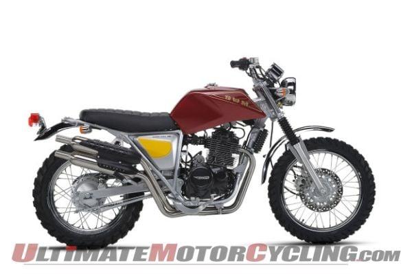 SWM Motorcycle - Silver Base