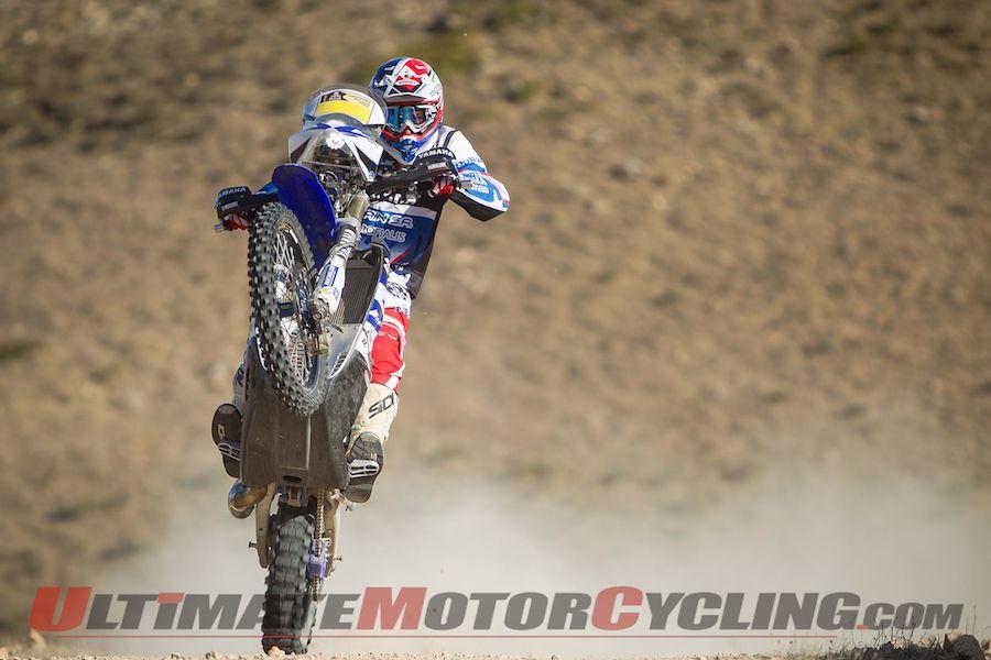Yamaha's Olivier Pain prepping for 2015 Dakar