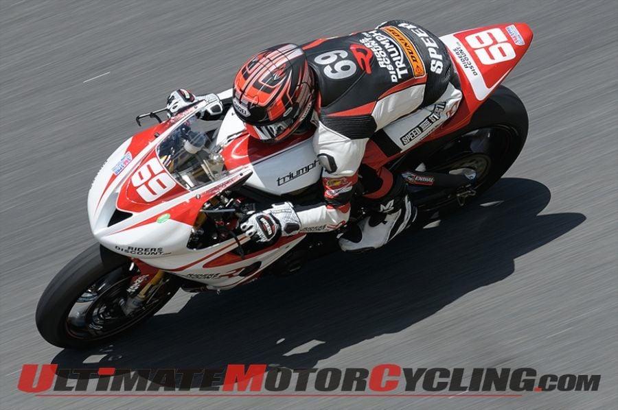 Triumph's Danny Eslick Ready for 2015 Daytona 200