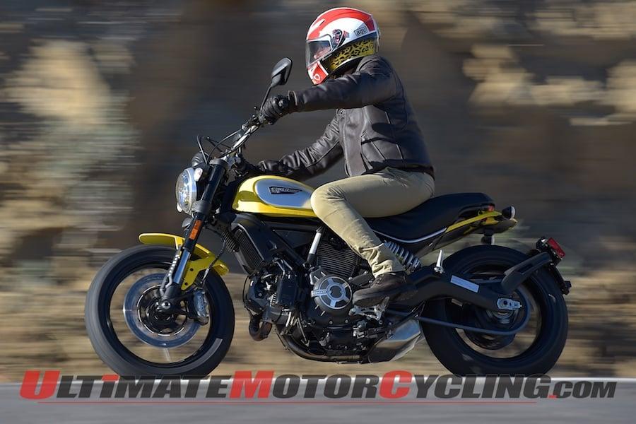 2015 Ducati Scrambler Icon First Ride Review