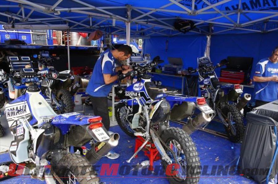 Yamaha Rally Team Yamalube Preview 2015 Dakar Rally