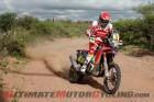 Honda's Joan Barreda Bort, stage 12, 2015 Dakar Rally
