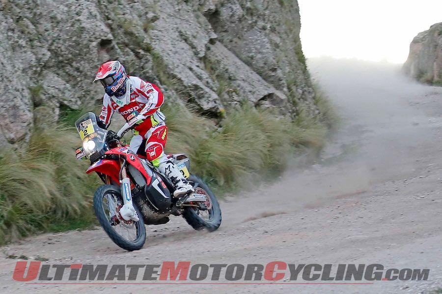 2015 Dakar Rally Stage 2 Results   Honda's Barreda in Lead