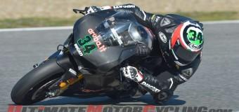 Ducati's Giugliano Sets Unofficial Jerez Track Record