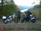 Blue Ridge Parkway via motorcycle