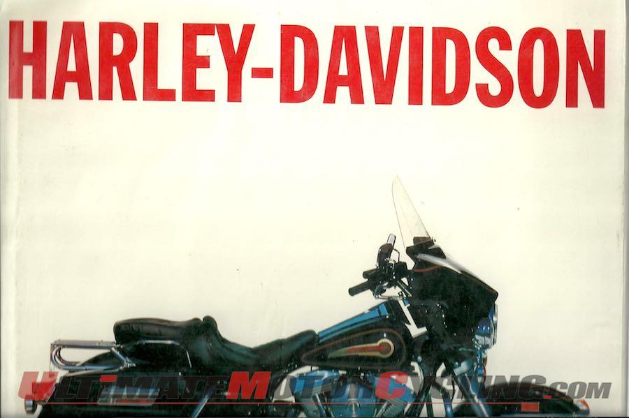 The Illustrated Motorcycle Legends Harley-Davidson