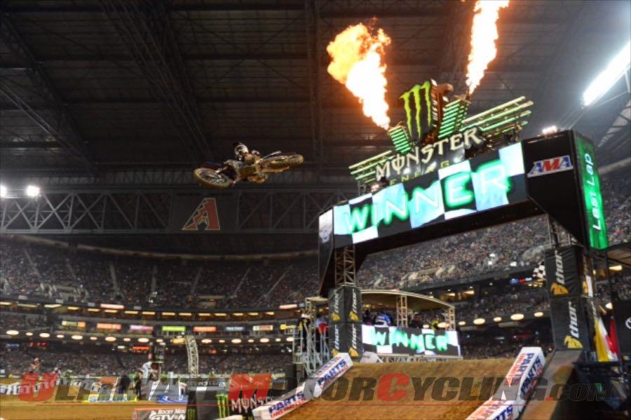 2015 Phoenix 250 Supercross Recap | Webb Earns Debut Win