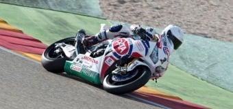 Rain Hampers Kawasaki & Pata Honda Aragon Superbike Testing