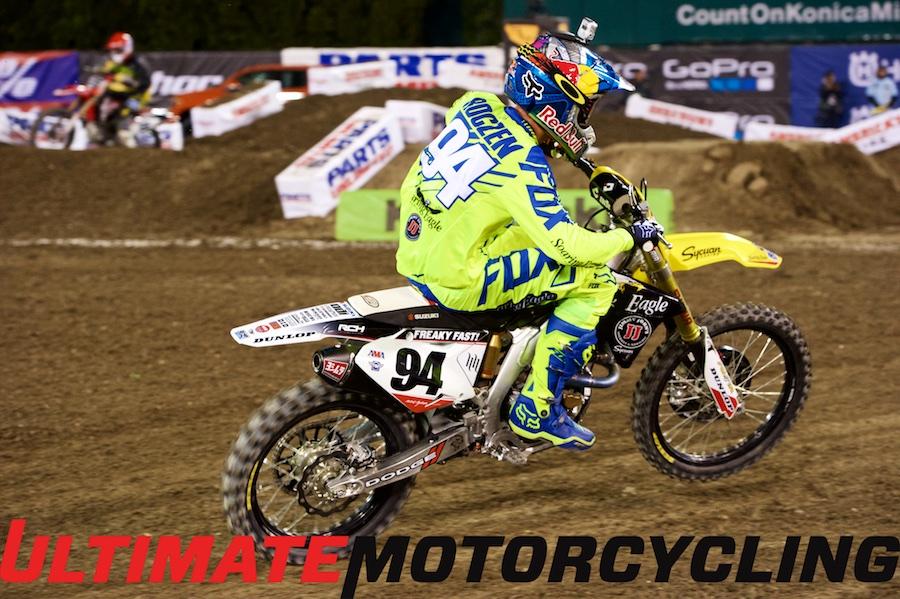 Suzuki's Ken Roczen Talks Anaheim Supercross