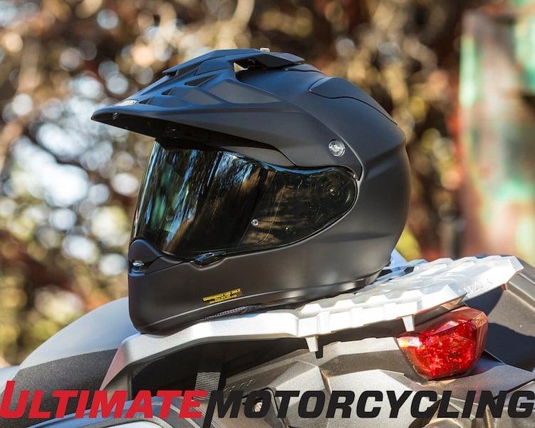 New Shoei Hornet X2 Helmet on Motorcycle