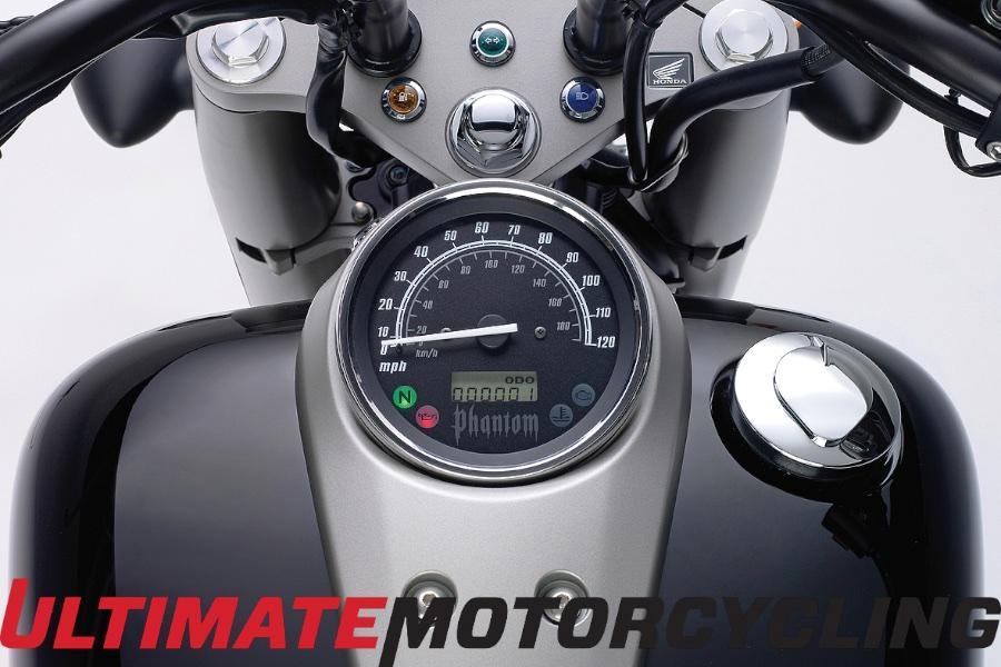 2015 Honda Shadow Phantom Test