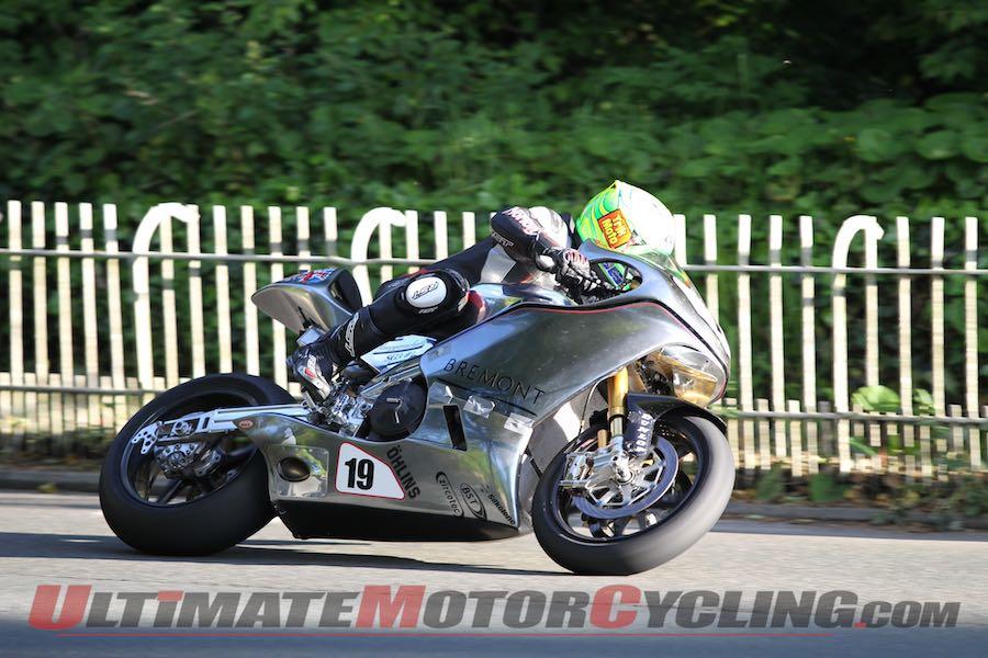 Cameron Donald Returns to Isle of Man TT with Norton