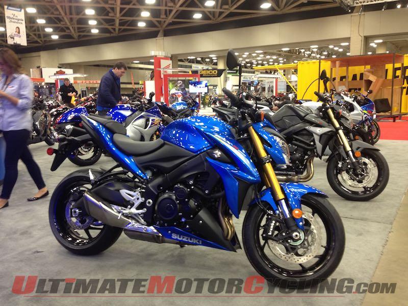 2016 Suzuki GSX-S1000 at Dallas IMS