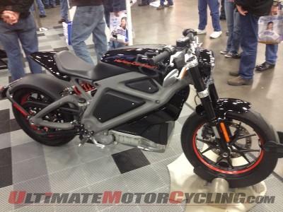 Harley-Davidson LiveWire at Dallas IMS