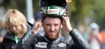 Lee Johnston on BMW S1000RR for 2015 Isle of Man TT