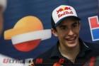 Repsol Honda's Marc Marquez after Sepang I Testing