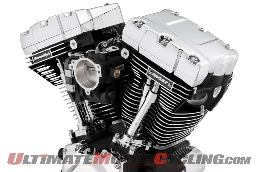 2016 Harley Davidson Road Glide Custom W 120r Crate Motor