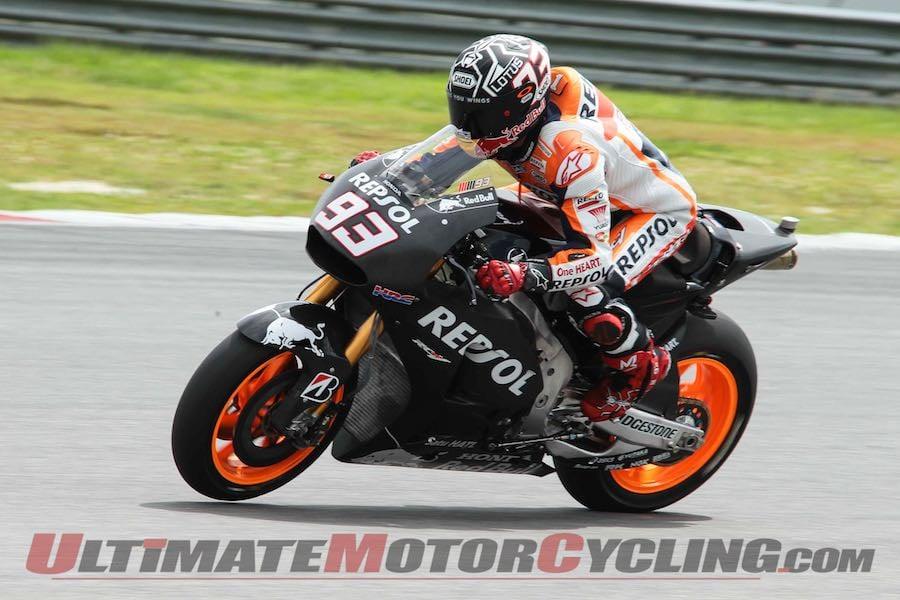 Marquez Dominates Day 1 of Sepang MotoGP Test