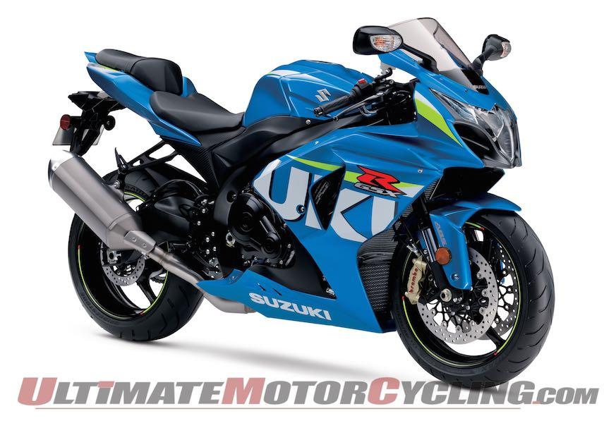2015 Suzuki GSX-R1000 ABS with MotoGP graphics