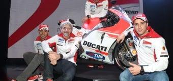 Ducati Unveils the MotoGP Desmosedici GP15