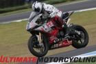 Larry Pegram at Phillip Island in World Superbike
