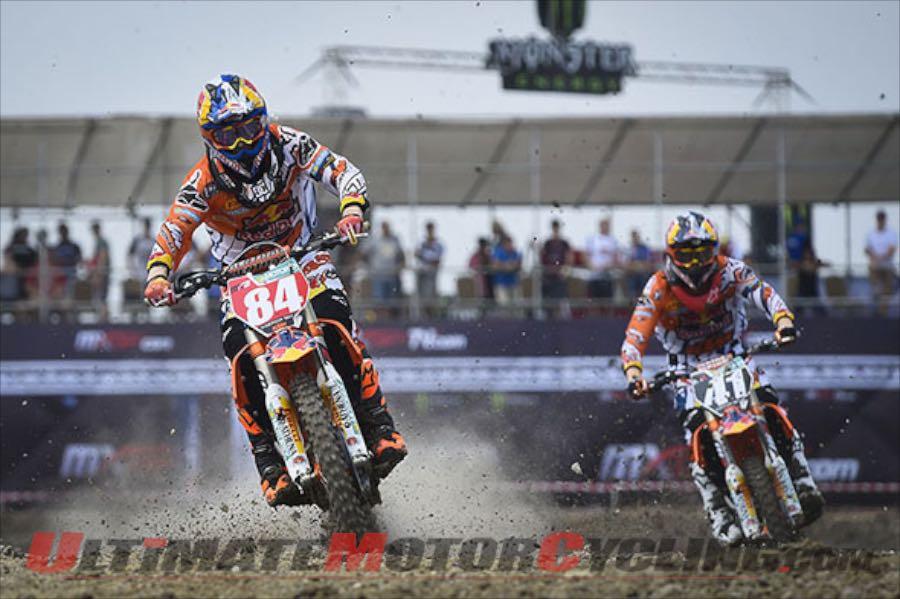 2015 Thailand MX2 Qualifying: KTM's Herlings Fastest - Again