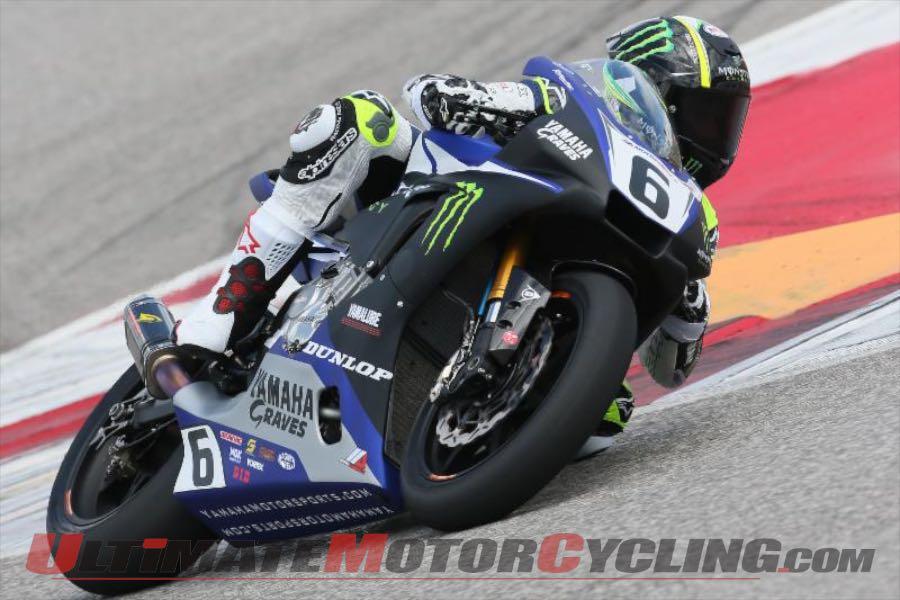 Yamaha's Beaubier Tops 1st MotoAmerica Test at COTA