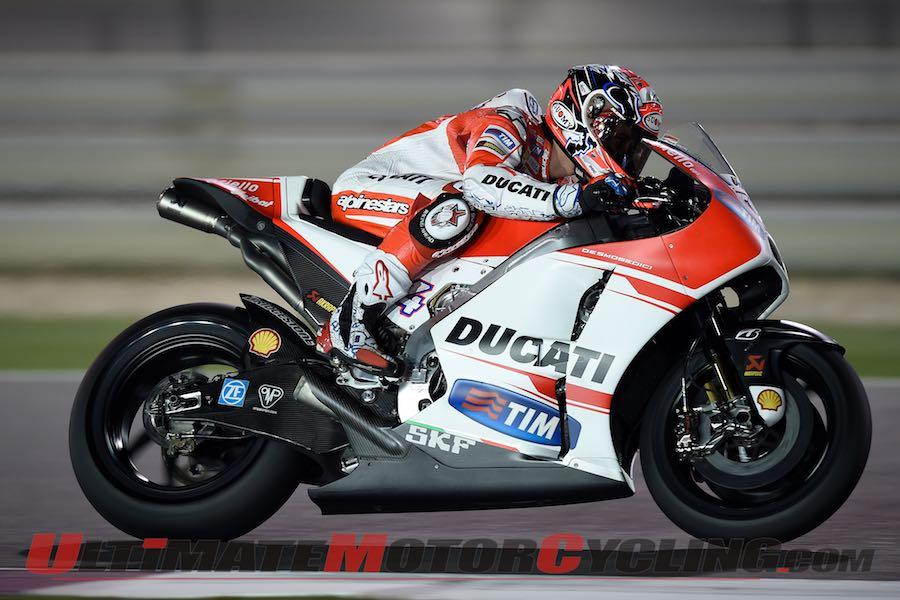 Ducati Tops Qatar MotoGP Test - Bridgestone Breakdown