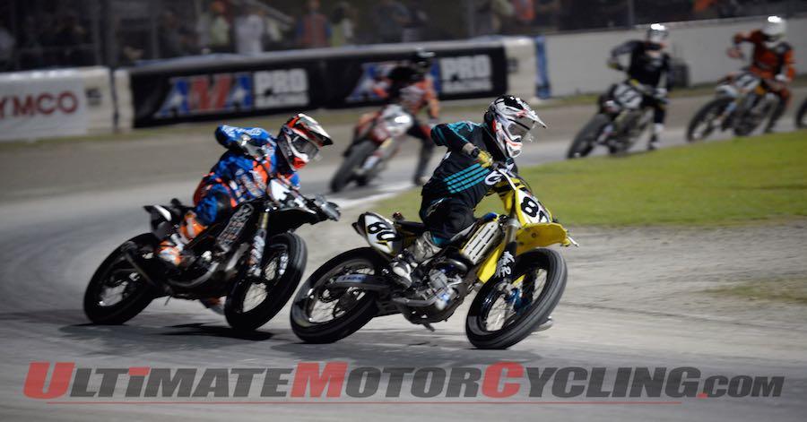 2015 Daytona Flat Track I Results | Thursday, Round 1