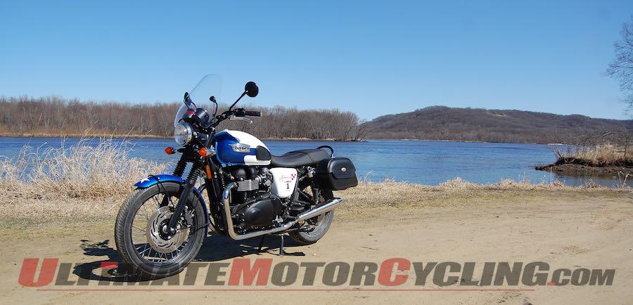 Driftless Day Trip Kicks Off 2015 Motorcycling Season Triumph T214