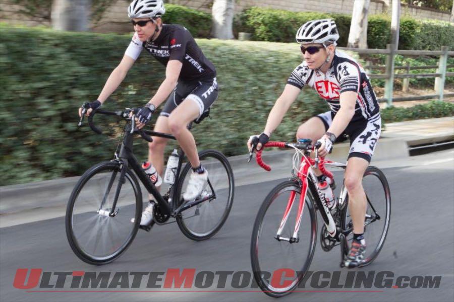 Spin Laps at Road Atlanta During MotoAmerica Bicycle Challenge