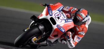 Ducati's Dovizioso Puts GP15 on Qatar MotoGP Pole