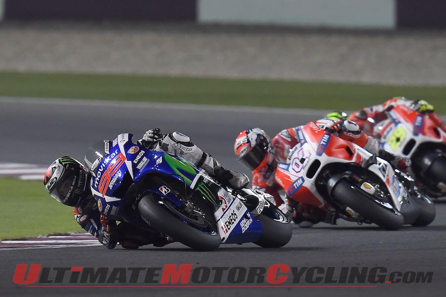 2015 Qatar MotoGP Results from Losail Jorge Lorenzo