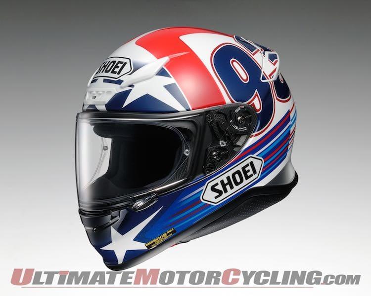 2015 Shoei RF1200 Marc Marquez Replica Helmets Unveiled