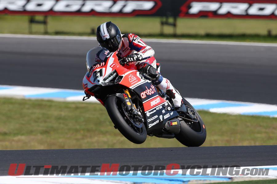 Troy Bayliss in 2015 World Superbike